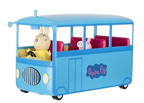 Peppa-Pig-El-autobs-del-cole-color-azul-Bandai-92637
