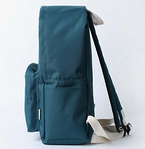 Más Reciente En Línea Barata Bubilian BTBB Backpack / Korean Street Brand / School Bag / Travel Bag (Indie Blue) Jade Green Aclaramiento Geniue Almacenista Tienda 4N163
