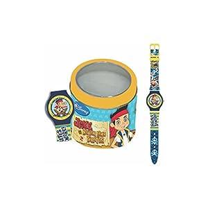 Jake The Pirate 000561149 - Reloj en Caja de Lata, Multicolor