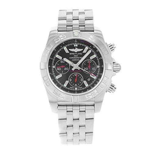 Breitling Chronomat 4401ab011110/ba50-ss in acciaio inox automatico orologio da uomo