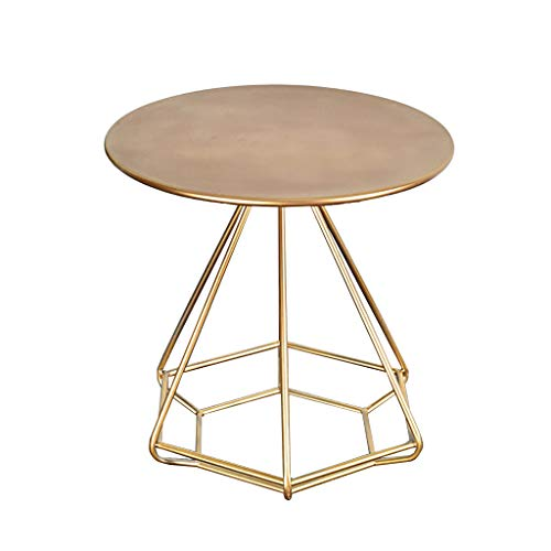 End table.Cb C-Bin1 Goldtee-Tabelle, Wohnzimmer-Sofa-kreativer...