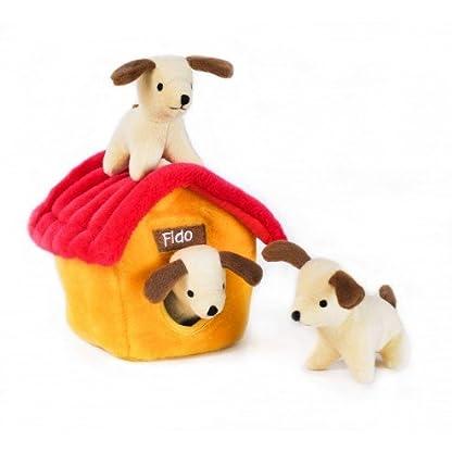 ZippyPaws Interactive Puzzle Zippy XLG Burrow XLG Dog House Dog Toy, 8-Inch/21 cm 1