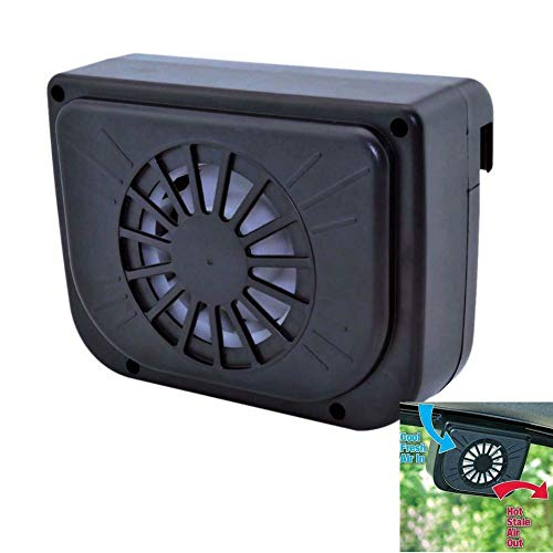 Winnes Solar Betriebener Auto Fan/Fenster Solar Ventilator/Mini-Klimaanlage Kühlerlüfter Sommerkühlung Luftumwälzpumpe