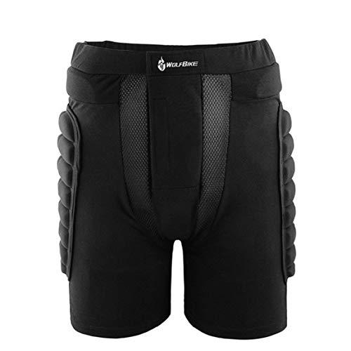 d7d4f8b8c2688 Hip Protectora Pad Shorts Resistencia Caída Esquí monopatín Ropa de Abrigo  Pantalones Deportes al Aire Libre