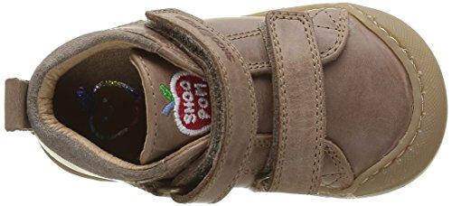 ShoopomKidur Bi Velcro - Scarpe primi passi Bimbo 0-24 Beige (Beige(Snow Taupe))