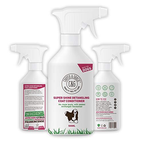 C&G Pets Shampoo Super Shine Entwirrende Fellpflege, 500 ml, desodorierend, langanhaltend, frischer Frühlingsduft, super glänzende Mähne, ohne Tierversuche zu verursachen