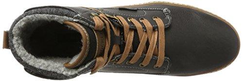 Dockers by Gerli 41mc104-610, Baskets Hautes Homme Noir (Schwarz/braun)