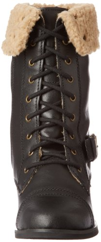 Skechers Infantry Soldier Invisible Wedge Boot Combat Black
