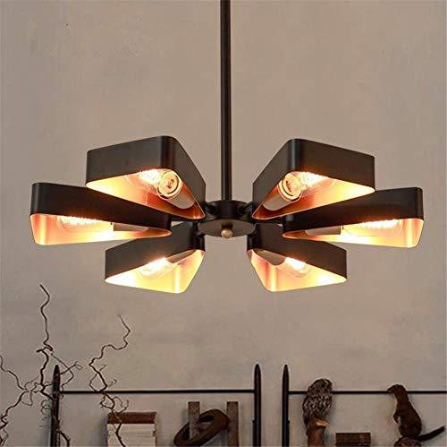 Lámparas de Techo Suspendidas Lámparas de Techo Retro Araña Loft Industrial Vintage Creativo Aviones de modelado de una sola cabeza de hierro forjado de vidrio colgante luces de techo para sala de est