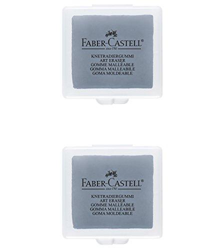 Faber-Castell B-7020-2 – Goma moldeable, color gris