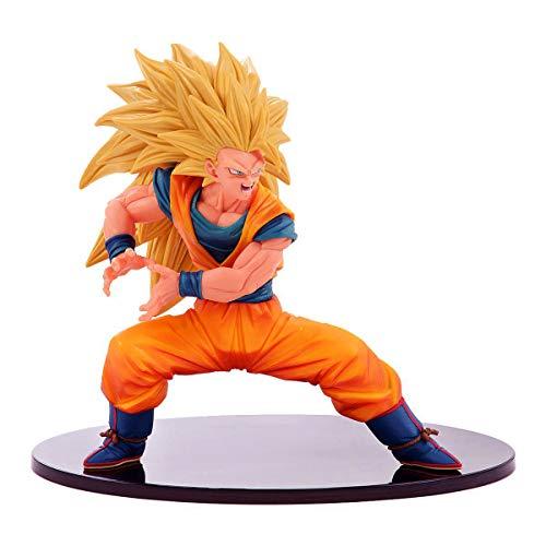 DRAGON BALL Figura Statua 16cm SON GOKU Super Saiyan SS3 Serie FES 3 Dragonball Super BANPRESTO Japan Gokou