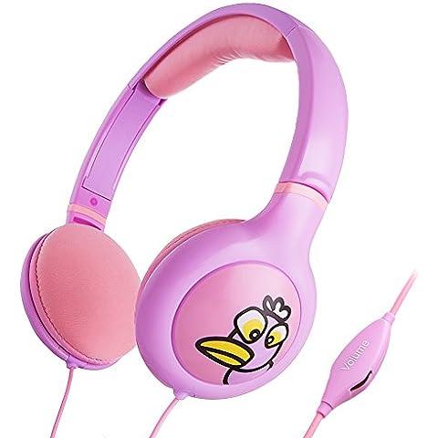 iKross 885157598910 auricular - Auriculares (Rosa, Púrpura, Supraaural, 3.5 mm (1/8
