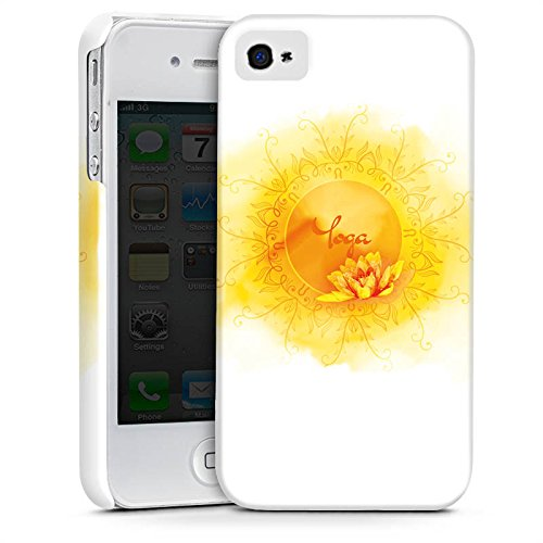 Apple iPhone 5c Silikon Hülle Case Schutzhülle Yoga Sport Hobby Premium Case glänzend