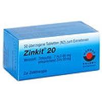 ZINKIT 20 überzogene Tabletten 50 St Überzogene Tabletten preisvergleich bei billige-tabletten.eu