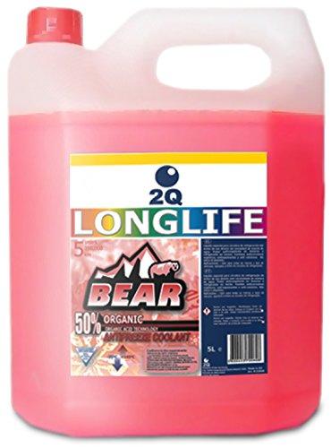 Bear Antifreeze Organic, 5L, 50%, Pink