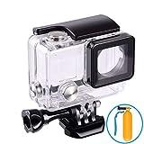SnipePoint Wasserdichte Schutzhülle für GoPro Hero 4 3+ 3 Tauchen Case Schutzhülle 45m mit Quick Release Berg und Rändelschraube
