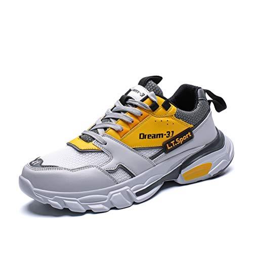 Scarpe Sportive per Uomo Scarpe da Ginnastica Impermeabili con Piattaforma Ammortizzante da Esterno Scarpe da Ginnastica Traspiranti per Il Tempo Libero