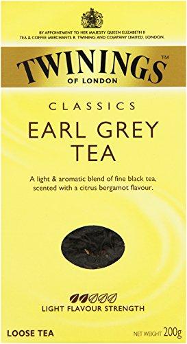 Twinings Earl Grey loser Tee 200g, 1er Pack (1 x 200 g)