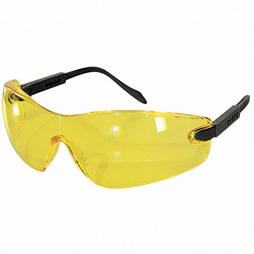 Objektiv-Gelb. Sinnliche Brille, Gläser aus Polycarbonat kratzfest.