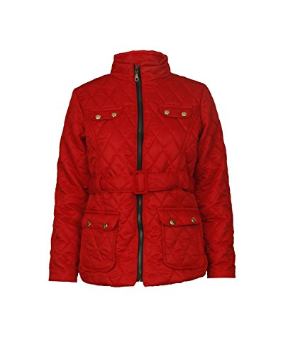 Fast Fashion Girls Coat Belted Gesteppte Gepolsterte Von Barbour Jacke -