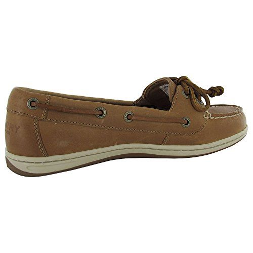 Sperry Top-Sider Firefish Animal Leather Fabric, Sneaker Donna Beige Beige Sahara