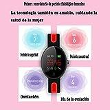 Yunzhengfei Weibliche physiologische Periode erinnert Das Armband,Fitness-Tracker, Kalorienverbrauch,Nachrichtenerinnerung, Schlaferkennung, Sphygmomanometer, Schrittzähler für Damenuhren