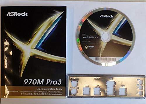 Preisvergleich Produktbild ASRock 970M Pro3 - Handbuch - Blende - Treiber CD