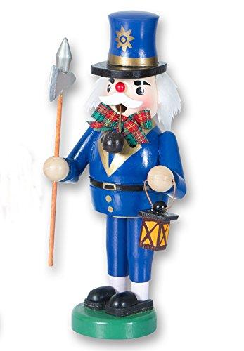 KLP Räuchermännchen Nachtwächter Holz Räuchermann Räucherfigur Weihnachts Deko Figur