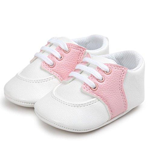 Krabbel Schuhe, FEITONG Baby Weiche Sole Kleinkind Beiläufige Schuhe Rosa