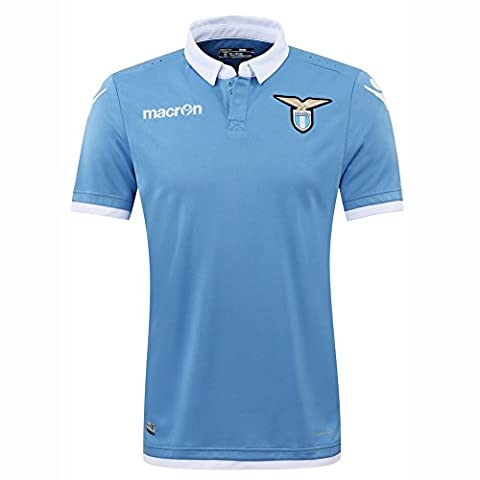 Lazio Maillot - 2016-2017 Lazio Authentic Home Match
