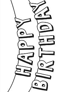 Darice A6, Carpeta de Estampación, Plantilla Feliz cumpleaños Bunting