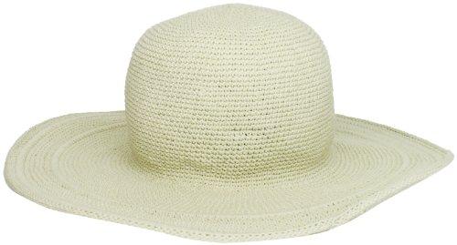 San Diego Hat Company Women's Cotton Crochet 4 Inch Brim Floppy Hat (Hats Crochet Womens)