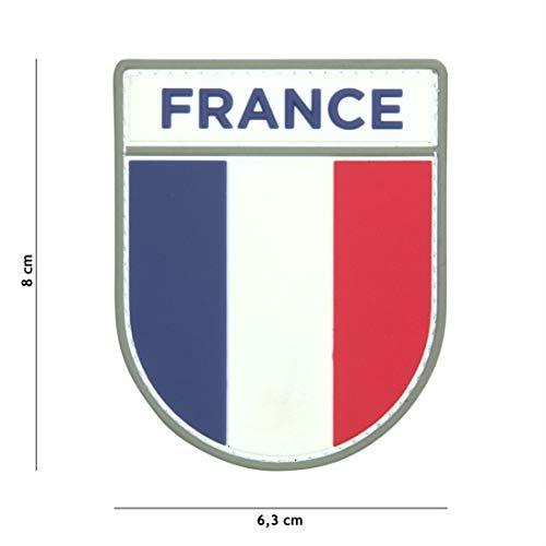 Tactical Attack Französische Armee #13075 Softair Sniper PVC Patch Logo Klett inkl gegenseite zum aufnähen Paintball Airsoft Abzeichen Fun Outdoor Freizeit - Armee Design