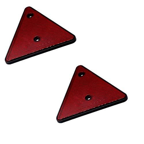 Kesoto 2 Unids 15,3 Cm / 6,02 Pulgadas Reflector De