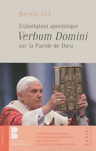 Exhortation apostolique Verbum Domini