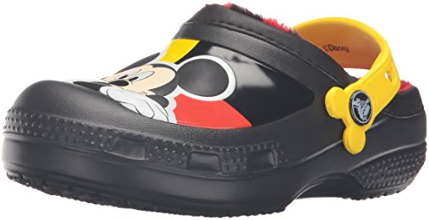 crocs CC Mickey Lined Clog (Toddler/Little Kid)