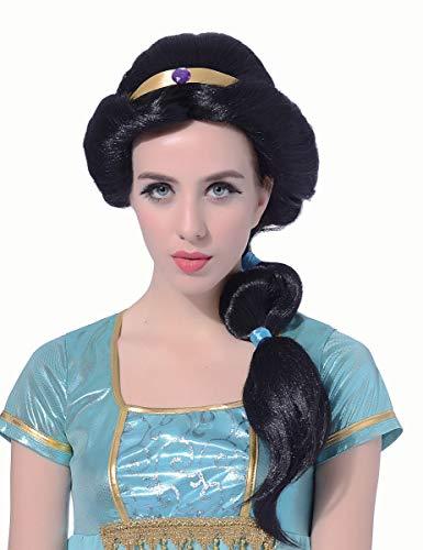 Orientalische Kostüm Perücke - Generique - Orientalische Prinzessinnen-Perücke für Damen