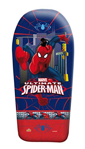 Ultimate Spiderman- Tabla Body Board, Color Azul y Rojo (Saica 1)