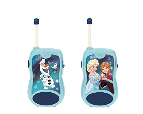 Disney- Frozen-Par De Walkie-Talkies, Rango De 100 Metros,...