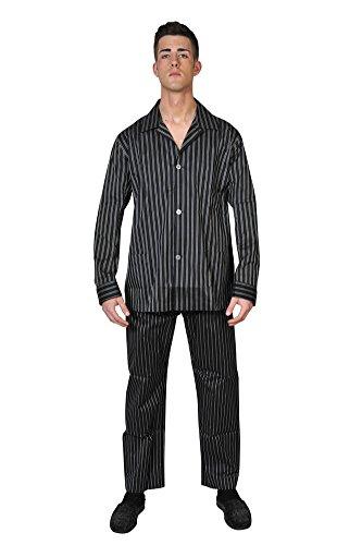 brioni-pajama-men-black-silk-striped