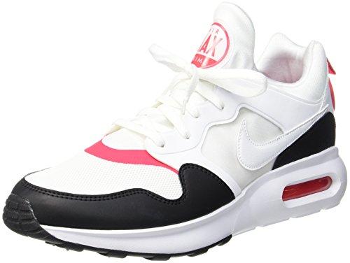 Nike Air Max Prime, Scarpe da Ginnastica Uomo Multicolore (White/White/Siren Red/Black/Brt Citrus)