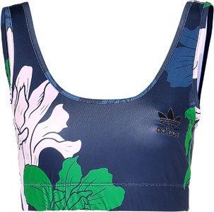 Damen Unterwäsche adidas Originals Floral Pack Top Underwear Blau