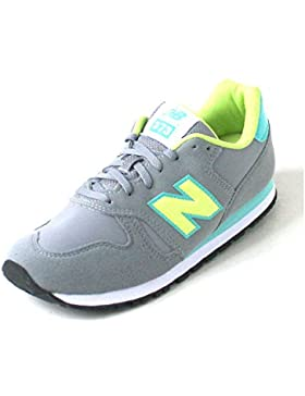 New Balance 373 yellow/aqua