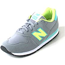 New Balance 373 yellow/aqua