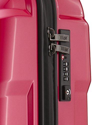 TITAN X2 Hartschalenkoffer Handgepäck, 825406-02 Koffer, 55 cm, 40 L, Pepper Fresh Pink