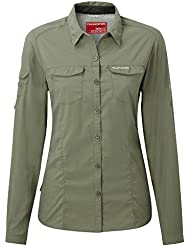 Craghoppers Dames Nosilife Adventure Long Sleeve Chemise
