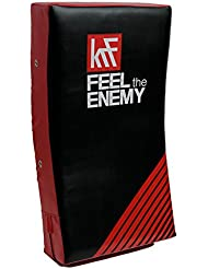 KRF Feel The Enemy Airtec Escudo de Alta Densidad, Unisex Adulto, Rojo / Negro, 75 x 35 x 15 cm