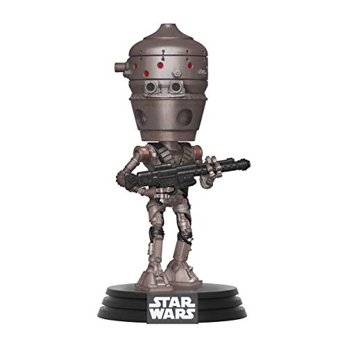 Funko Pop Bobble Vinyle Mandalorian-IG-11 Star Wars The Mandalorian IG-11 Figurine de Collection, 42064, Multicolore