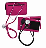 MABIS DMI Healthcare MABIS MatchMates Aneroid Sphygmomanometer and Sprague Rappaport Stethoscope Combination Manual