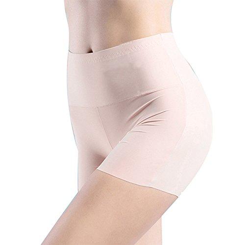 TIFIY Frauen Damen Fuku hohe Taillen Körper Unterwäsche Bauch Steuer Make Hüften Panty Formwäsche (170, Khaki) (Low-rise-schwangerschafts-hosen)
